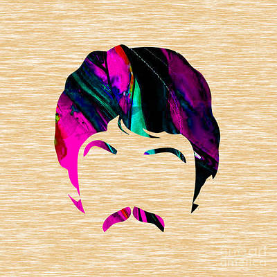 Paul Mccartney Collection Art Print by Marvin Blaine