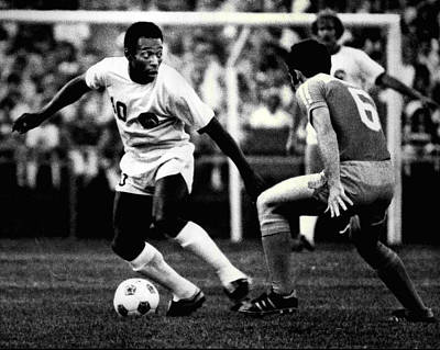 Pele Art Print by Retro Images Archive