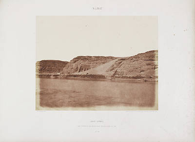 Photograph Of The Egyptian Landscape Art Print