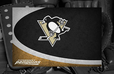 Pittsburgh Penguins Art Print by Joe Hamilton
