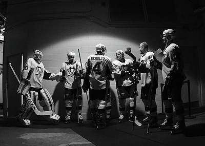 Photograph - Pittsburgh Penguins V New York Rangers by Bruce Bennett