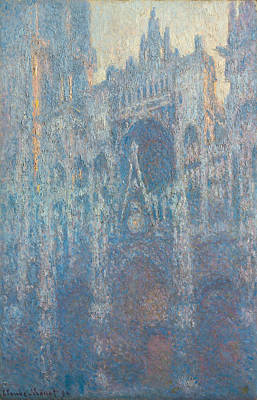 Morning Light Painting - Rouen Cathedral by Claude Monet
