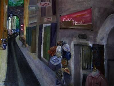 14 Rue De La Commune Provence France Art Print by Maria Milazzo