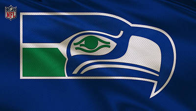 Team Photograph - Seattle Seahawks Uniform by Joe Hamilton