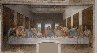 Old Testament Painting - The Last Supper by Celestial Images