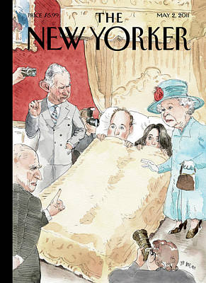 Painting - New Yorker May 2nd, 2011 by Barry Blitt