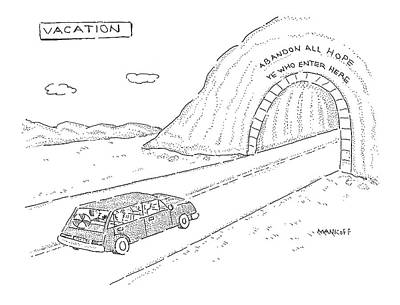 Abandoned Drawing - New Yorker April 18th, 2005 by Robert Mankoff