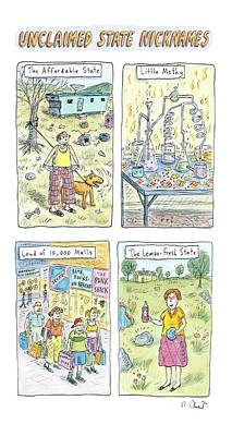 Lemon Drawing - New Yorker October 23rd, 2006 by Roz Chast
