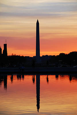 Photograph - Washington Dc by Songquan Deng