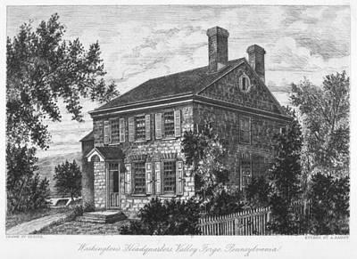 Photograph - Washington: Headquarters by Granger