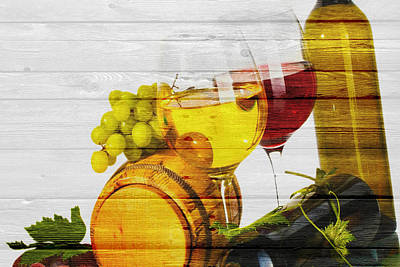 Of Wine Bottles Photograph - Wine by Joe Hamilton