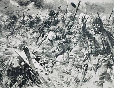 World War I (1914-1918 Art Print