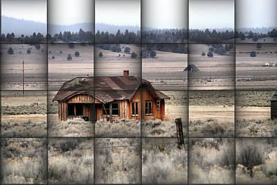 140 Homestead Weave Art Print by Ray Finch