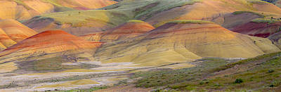 Photograph - 140429a-281 Painted Hills At Sunset by Albert Seger