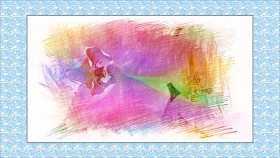 Purple Corolla Art Print