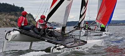 Photograph - 2014 Whidbey Island Race Week by Steven Lapkin