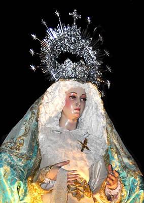 143 Semana Santa In Olvera Art Print by Patrick King
