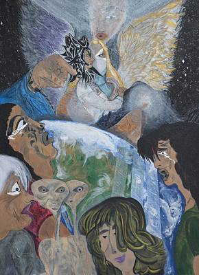 144000 Thousand Art Print by Rose Sambolin