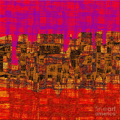 1457 Abstract Thought Art Print by Chowdary V Arikatla