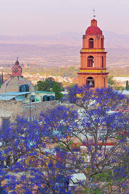 Mexico, San Miguel De Allende Art Print by Jaynes Gallery