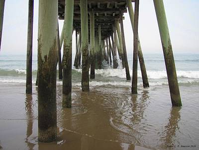 Photograph - 14th Street Pier by Jennie  Richards