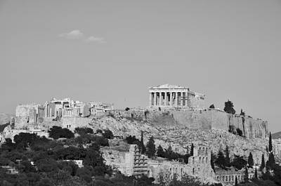 Akropolis Photograph - Acropolis Of Athens by George Atsametakis