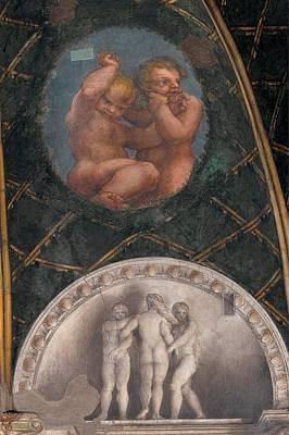 Allegri Antonio Known As Correggio Art Print by Everett