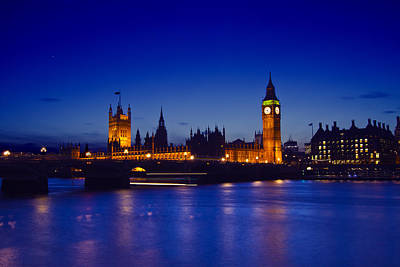 London Skyline Photos - Big Ben and the houses of Parliament by David French