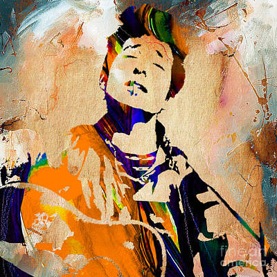 Bob Dylan Mixed Media - Bob Dylan Collection by Marvin Blaine