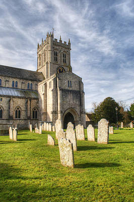 Photograph - Christchurch Priory by Chris Day