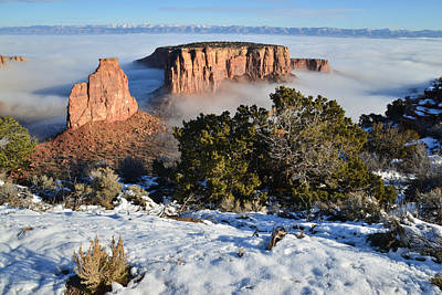 Photograph - Colorado National Monument by Ray Mathis