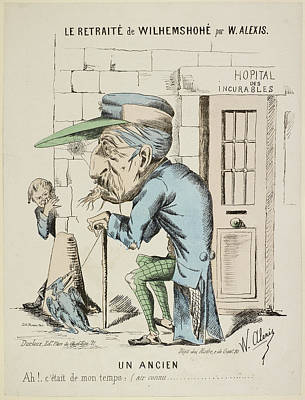 Caricature Photograph - French Caricature by British Library