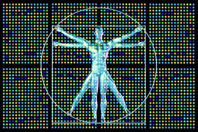 Genetic Research Art Print by Pasieka