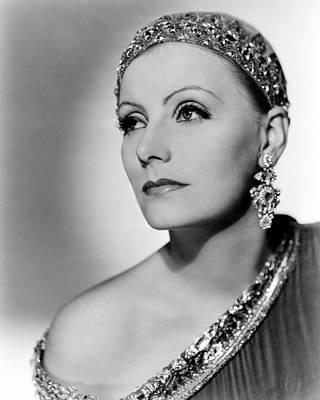 Greta Photograph - Greta Garbo by Silver Screen