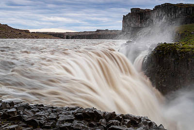 Dettifoss Photograph - Iceland, Ice & Fire by Mikel Bilbao