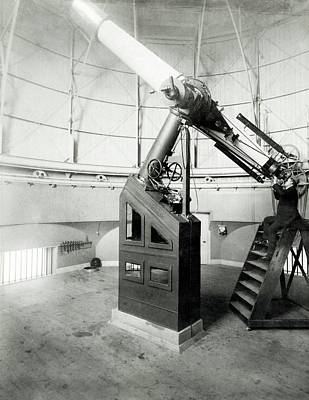 15-inch Telescope Art Print by Royal Astronomical Society