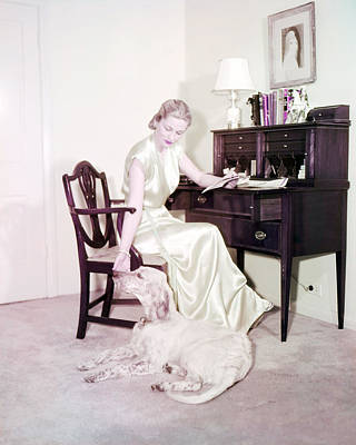Photograph - Joan Fontaine by Silver Screen