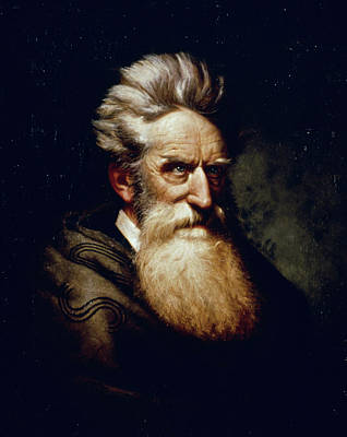 Abolition Movement Painting - John Brown (1800-1859) by Granger