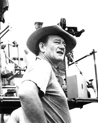 Duke Photograph - John Wayne by Retro Images Archive