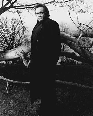 Nashville Photograph - Johnny Cash by Retro Images Archive