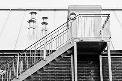 Aluminum Outdoor Photograph - Modern Building by Tom Gowanlock