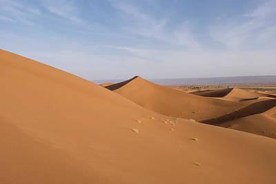Sahara Photograph - Morocco Erg Chegaga (or Chigaga by Emily Wilson