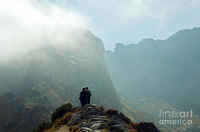 Hiking Photograph - Mountains Landscape by Michal Bednarek