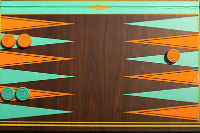Backgammon Photograph - New York City, Ny, Usa by Julien Mcroberts