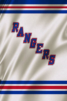 Players Photograph - New York Rangers by Joe Hamilton