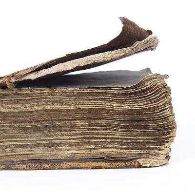 Read Photograph - Old Book by Bernard Jaubert