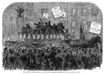 Presidential Campaign, 1864 Art Print