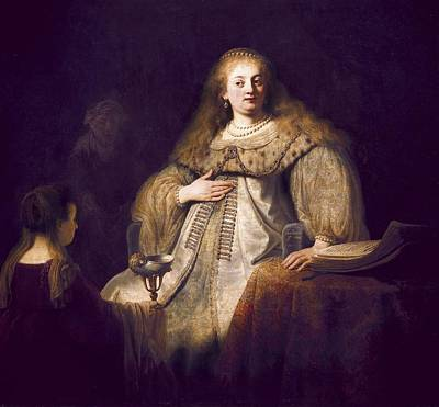 Rembrandt, Harmenszoon Van Rijn, Called Art Print by Everett