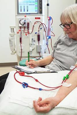 Shared Care Dialysis Unit Art Print