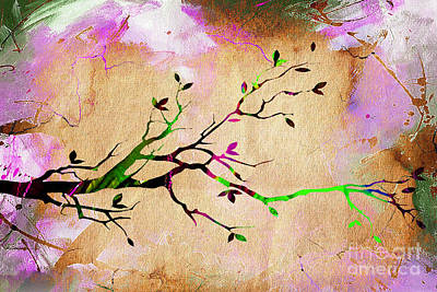 Tree Branch Collection Art Print